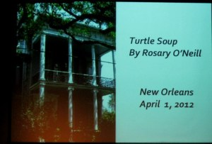 New Orleans Playwright's Turtle Soup from White Suits in Summer. Directed by WCT actor and director Elaine Hartel.