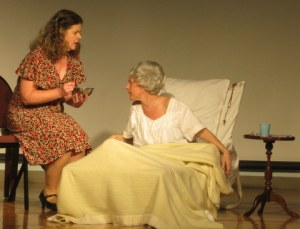 Turtle Soup: Suzanne Ochs as Lucille (left) and Janice Kirkel as Aunt Jean.