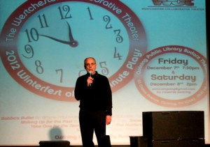 WCT Director, Alan Lutwin, introduces the 2012 Winterfest