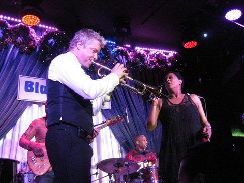 Chris Botti and the brilliant Lisa Fisher
