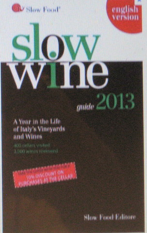 Slow Wine Guide, 2013