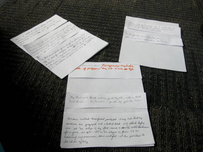 Writing I worked on during a workshop at Omega Institute.