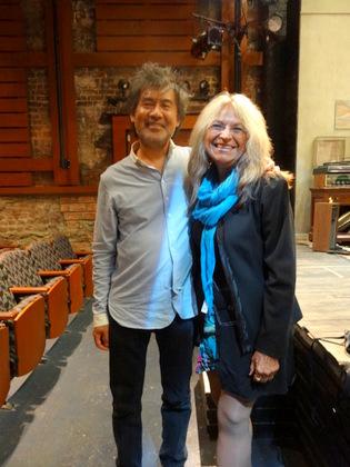 David Henry Hwang and me.