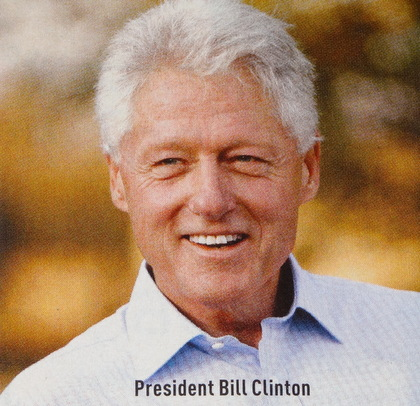 This photograph of President is from the Omega catalogue for 2013...courtesy of Omega Institute in Rhinebeck, NY