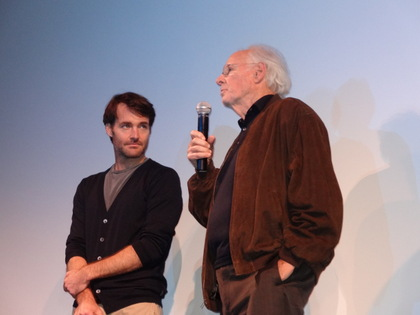 Will Forte and Bruce Dern in the Q & A for Nebraska. Both were very generous with their time.