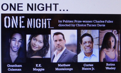 Cast of One Night at the Cherry Lane