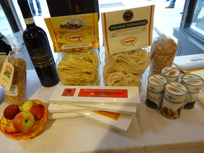 Products from Umbria sold at Eataly