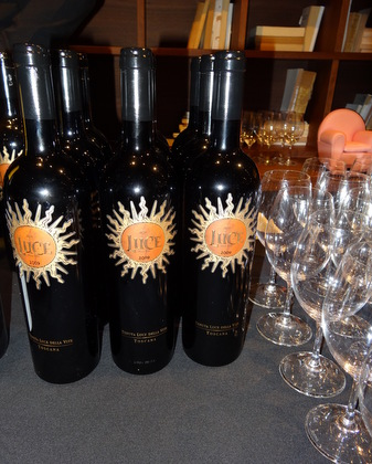 Luce a Tuscan wine produced from Sangiovese and Merlot grapes by Luce della Vite