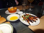 Carrots salsa verde