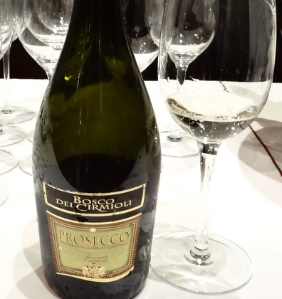 Prosecco from the Veneto in Italy. Move the Passion Walking Wine Tour, NYC (Astor Center venue)