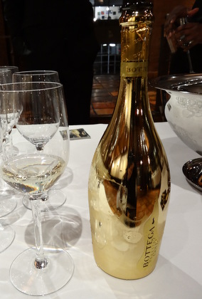 Prsecco from the Veneto, Italy sampled at Move the Passion Wine Walking Tour NYC (Astor Center venue)