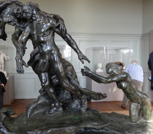 Camille Claudel's The Age of Maturity (1899), a controversial and extraordinary work at The Rodin Museum. Photo by Carole Di Tosti.
