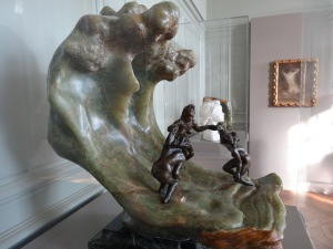 'The Wave' by Camille Claudel. Photo by Carole Di Tosti.