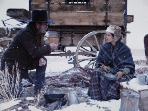 Tommy Lee Jones and Hillary Swank in 'The Homesman.' Photo taken from the film website.