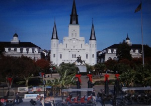 St. Louis Cathedral, Jackson Square in New Orleans, near the world famous Cafe du Monde. Photo by Carole Di Tosti