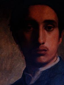 Degas in a Green Jacket, Edgar Degas. Photo taken courtesy of the Wiki Art site.
