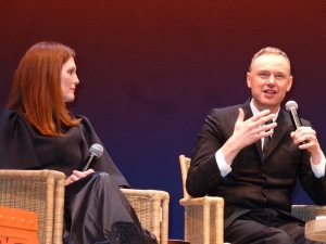 Julianne Moore and director Wash Westmoreland at 22nd HIFF US Premiere of 'Still Alice.' Photo by Carole Di Tosti