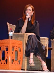 Julianne Moore, Q & A for 'Still Alice' 22nd HIFF. Photo by Carole Di Tosti