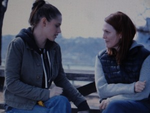 Kristen Stewart and Julianne Moore in 'Still Alice.' Photo courtesy of the film.