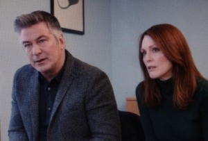 Alec Baldwin and Julianne Moore in 'Still Alice.' Photo courtesy of the film.