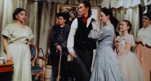 'Degas in New Orleans,' by Rosary O'Neill, directed by Deborah Temple, music by David Temple at the Arthur Seelen Theatre Drama Bookstore. (L to R) Lucy Makebish, Patrick O'Shea, Trevor Kowalsky,