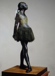 'The Little Dancer' by Edgar Degas.