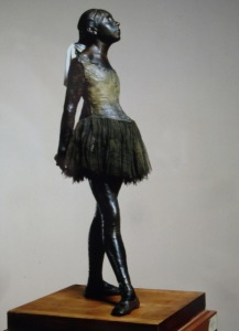 'The Little Dancer' by Edgar Degas.