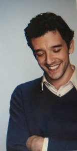 Michael Urie, actor, director, producer. Photo taken from his webpage.