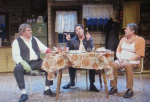 Dan Lauria, Ray Abruzzo, Richard Zavaglia, 'Dinner With The Boys,' Acorn Theatre