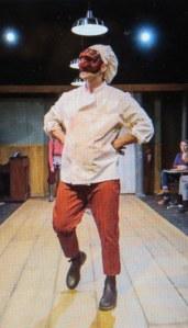 Carter Gill, Pulcinella, Commedia dell 'Artichoke, Gene Frankel Theatre,