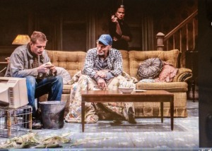 Paul Sparks, Ed Harris, Amy Madigan, Sam Shepard, Buried Child, Scott Elliott, The New Group