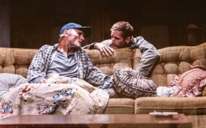 "Ed Harris, Paul Sparks, Sam Shepard, ""Buried Child,"" Scott Elliott, The New Group."