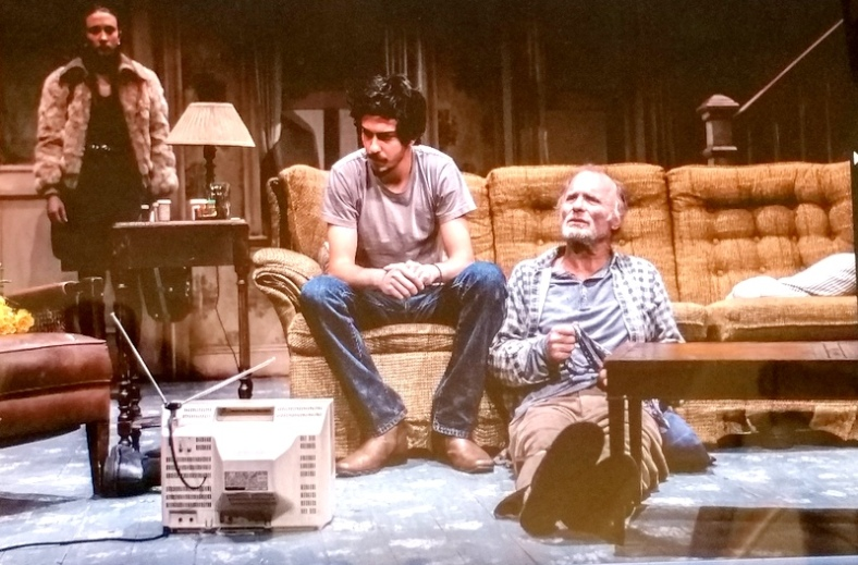Buried Child, Sam Shepard, Scott Elliott, Ed Harris, Amy Madigan, Paul Sparks, Rich Sommer, Taissa Farmiga, Larry Pine, The New Group