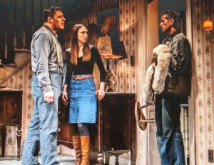 Rich Sommer, Taissa Farmiga, Paul Sparks, Buried Child, Sam Shepard, The New Group
