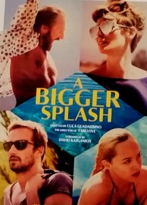 A Bigger Splash, film poster