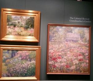 Daniel Putnam Brinley, 'The Peony Garden,' Matilda Browne, in Voorhees's Garden, William Chadwick, Irises, NYBG, Impressionism American Gardens on Canvas
