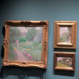 NYBG, Impressionism American Gardens on Canvas, John H. Twachtman, Wildflowers, Theodore Wores, Thomas Moran's House (East Hampton, Long Island), Edmund William Greacen, In Miss Florence's Garden