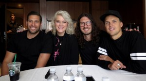 Taya Smith, Jad Gillies, Dylan Thomas, Jonathan Douglass, Hillsong United: LET HOPE RISE, Langham Place NYC