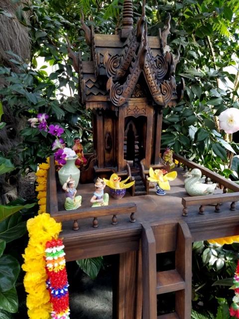 Pirot GitiKoon, Thailand spirit houses,