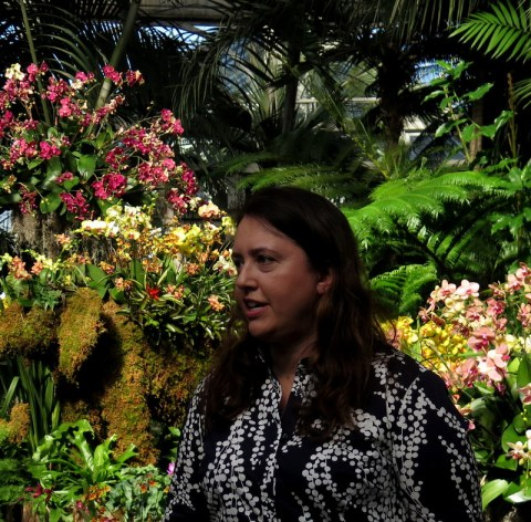 Karen Daubmann, AVP Exhibitions and Public Engagement, NYBG, Orchid Show: Thailand