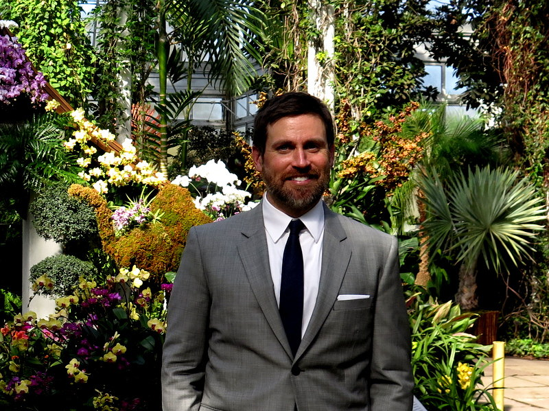 Christian Primeau, NYBG, Orchid Show: Thailand