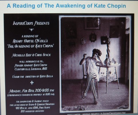The Awakening of Kate Chopin, Rosary O'Neill, InspireCorps