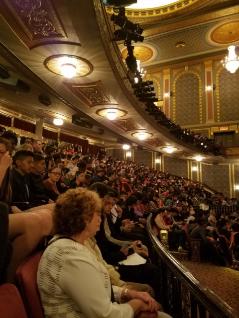 Hamilton Education Program, Hamilton, Richard Rogers Theater, The Gilder Lehrman Institute of American History, The Rockefeller Foundation, NYC Department of Education,