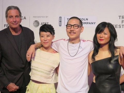 Tribeca Film Festival Red Carpet, Wasted! The Story of Food Waste, Peter Madonia, Nari Kye, Danny Bowien, Anna Chai