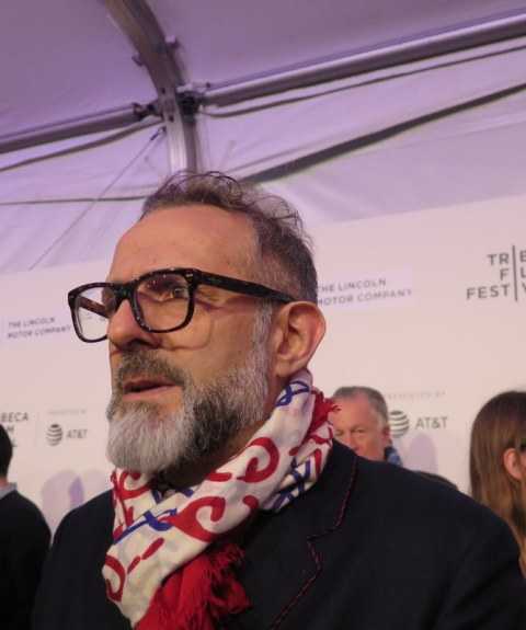 Massimo Bottura, Wasted! The Story of Food Waste, Tribeca Film Festival Red Carpet, Refettorio Ambrosiano, Milan, Food for the Soul