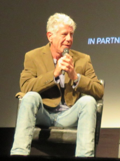 Anthony Bourdain, Tribeca Film Festival World Premiere Q & A, Wasted! The Story of Food Waste