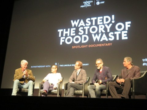 Anthony Bourdain, Danny Bowien, Dan Barber, Massimo Bottura, Peter Madonia