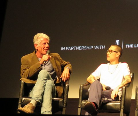 Anthony Bourdain, Danny Bowien, Wasted! The Story of Food Waste, Tribeca Film Festival World Premiere
