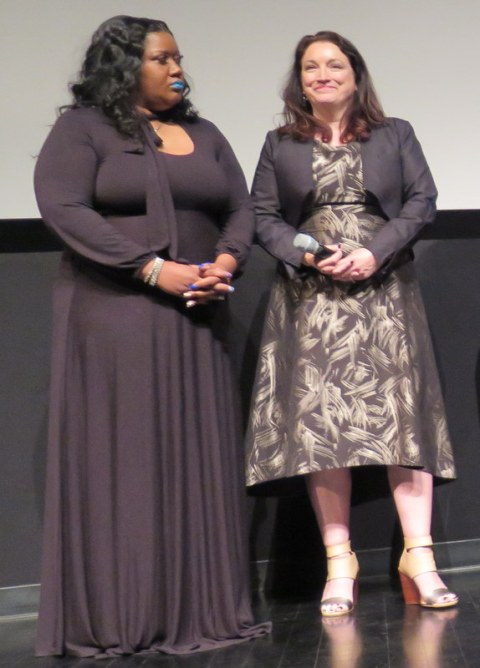 Ericka Murria, Trish Adlesic, I Am Evidence, TFF Q & A, World Premiere, backlogged rape kits, rape culture, serial rapists
