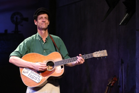 David M. Lutken, Woody Sez: The Life & Music of Woody Guthrie, Irish Repertory Theatre, Woody Guthrie